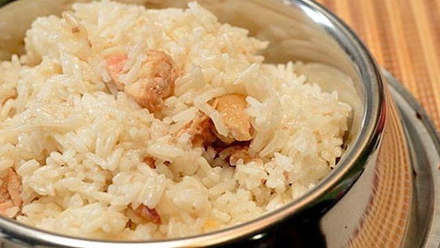 Receta de arroz para perros