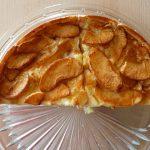 Tarta de manzana y platano