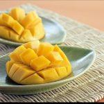 Helado para perros de mango