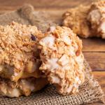 Receta de galletas para perros de manzana